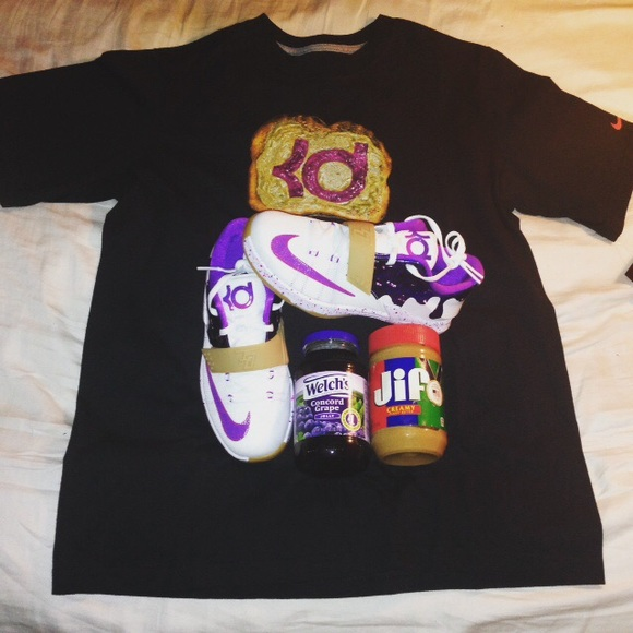 ffe0d703569f Nike KD 7 Kevin Durant Peanut Butter Jelly Youth